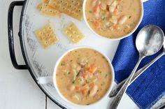 White Bean Chowder #soup #recipe