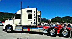 Heavy Duty Trucks, Big Rig Trucks, Tow Truck, Semi Trucks, Cool Trucks, Peterbilt 386, Kenworth Trucks, Heavy Construction Equipment, Logging Equipment