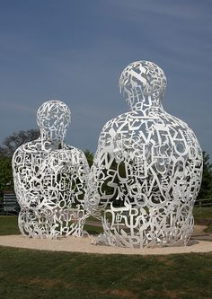 Spiegel 1 and 2, jaume plensa