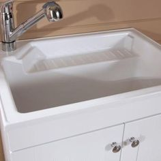 ... images about Laundry on Pinterest Utility sink, Home depot and Sinks