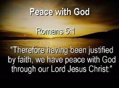PEACE FROM JESUS