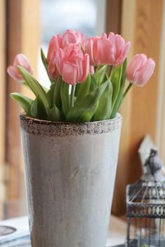 Tulips save the day. Save The Day, Tulips, Planter Pots, Vase, Flowers, Home Decor, Decoration Home, Room Decor, Vases