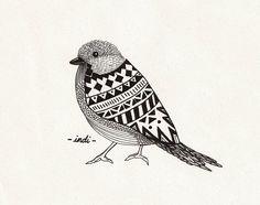Tribal bird Indi Maverick
