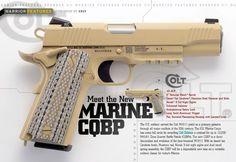 The New Colt Marine 1911 CQBP man I really want one