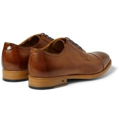 Paul Smith Shoes & Accessories - Ernest Leather Derby Shoes|MR PORTER
