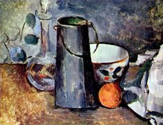 Paul Cezanne: Still life - a jar with an orange