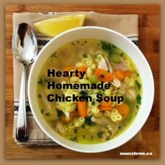 Delicious chicken soup #recipe- #momstownmeals