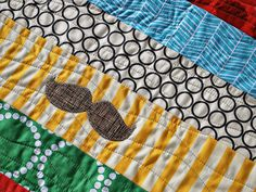 A few of you have requested a tutorial on the wavy quilting I've been using on some of my quilts lately.  I'm not sure how else to do this o...
