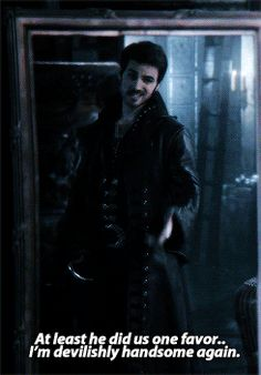 Yes you are Hook... yes you are.. ♥