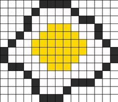 Egg Perler Perler Bead Pattern / Bead Sprite