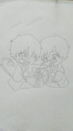 Rin okumura y Yukio okumura Chibi blue exsorcist