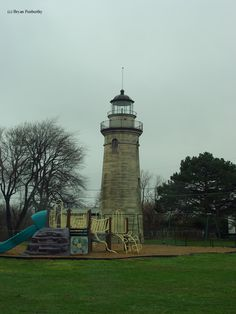 Erie Land #Lighthouse in Erie, #Pennsylvania http://www.roanokemyhomesweethome.com