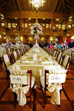 Lindsey & Jason's Scottish Rite Wedding Photo By Jessica Strickland Photography Wedding Linens, Chair Covers, Wedding Receptions, Main Dishes, Cathedral, Wedding Photos, Chairs, Events, Cookies