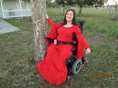 #holyclothingcontest This is me in my Red Hot Princess Dress that My Best friend in the Entire World Gave Me