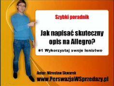 Film w którym tłumaczę jak napisać sprzedający opis na Allegro.