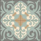"""""""La Espanola"""" Encaustic Decorative Cement Tile, Concrete Tile, Encaustic Tile, Morroccan Tile, Spanish Tile, Cement tile, Mission tiles -  for indoor and outdoor use 