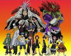 Silent Divergence Anime Group: Shaman King