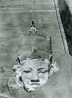 Abu Simbel, Egypt 1850 • By Maxime Du Camp