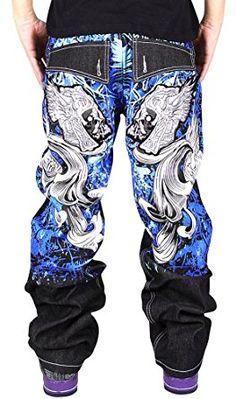 Image result for baggy denim urban jeans