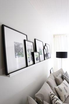 Homevialaura | gallery wall | art wall | livingroom