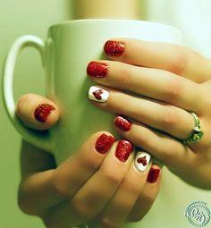 Diseños de Uñas para San Valentín 2