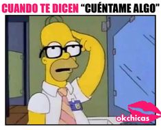 meme ok chicas caricatura homero simpson lentes Literally Me, Comedy Central, Family Guy, Lol, Funny, Fictional Characters, Playlists, Facebook, Truths