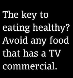 Wow - never thought of it but this is true... when was the last time you saw a broccoli commercial??