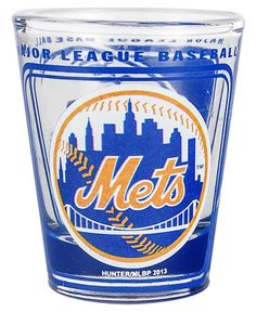Hunter Manufacturing New York Mets 3D Collector Glass