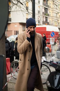 The Best Street Style from Milan Fashion Week | GQ- January 2016.