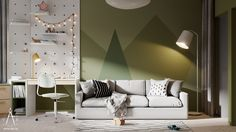 Apartments in Minsk (7) Child room #1 on Behance