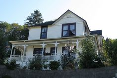 """The Goonies House"" in Astoria, Oregon. The famous film was filmed right in Astoria."