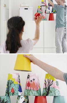 Des idées originales de jouets pour enfant. Jeu de lancer LATTJO #IKEABE