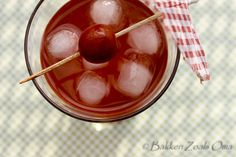 Happy Hour Cherry Whispers Cocktail #Cocktails #Drinks