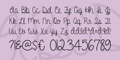 A Gentle Touch Font · 1001 Fonts