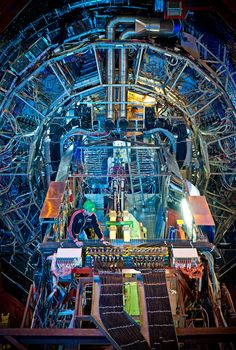 Stunning photos of CERN - Talk about detail in and color in an image! This one has it all.
