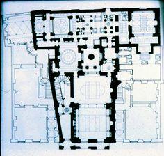 183 Sir John Soane's Museum, ground floor plan