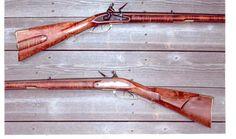 I have always wanted an early American flintlock. Black Powder Guns, Flintlock Pistol, Powder Horn, Long Rifle, Primitive Survival, American Revolutionary War, Hunting Rifles, Mountain Man, Guns And Ammo