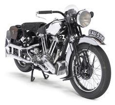 Brough Superior 1937 aka Lawrence of Arabia's bike