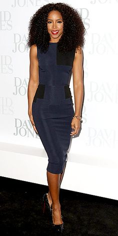 Kelly Rowland at the David Jones 2012/13 season launch in Sydney