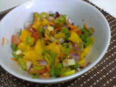 Salada Agridoce de Manga