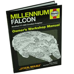 This Haynes Manual about the Millennium Falcon is an indulgent insight for Star Wars Fans, old and young!