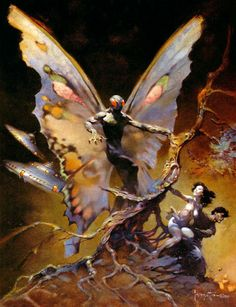 Mothman~ Frazetta