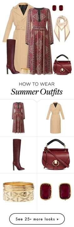 """outfit  2564"" by natalyag on Polyvore featuring Golden Goose, Pollini, Charlotte Russe, Chloé, Chanel and Loro Piana"