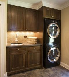 small laundry room ideas | Simple Ways to Organize Your Small Laundry Room |