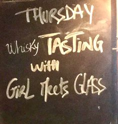 Paris Food & Drink Events: Whiskey Tasting at WOS
