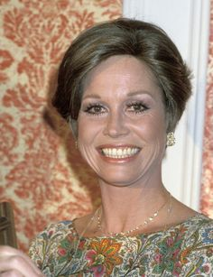 Mary Tyler Moore during National Television Radio Broadcast Gala Honoring Ed Asner March 8 1978 at Century Plaza Hotel in Los Angeles California...