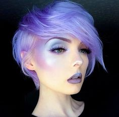 WEBSTA @ arcticfoxhaircolor - The queen @beautsoup looking angelic in Purple…