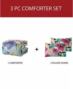 Hallmart Collectibles Amanda 3-Pc. Reversible Comforter Sets & Reviews - Bed in a Bag - Bed & Bath - Macy's