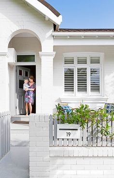 A couple renovate a 100-year-old house in Sydney's Inner West to create the light, bright family home they desired.