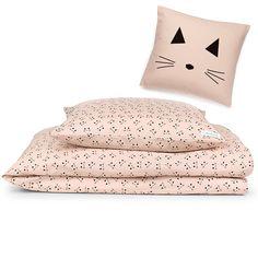 Sengesett Cat Rose Little Princess, Bed Pillows, Pillow Cases, Rose, Cats, Interior, Pillows, Pink, Gatos